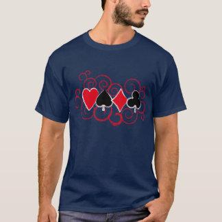 Poker-Wirbel T-Shirt