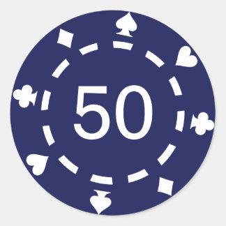 Pokerchips Sticker