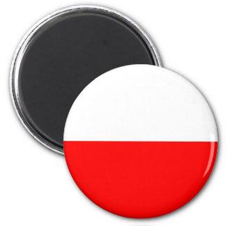 Polen-Flagge Kühlschrankmagnete