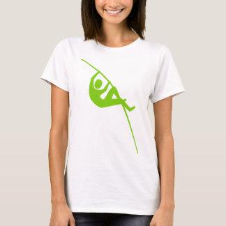 PoleVaulting - Marsmensch-Grün T-Shirt
