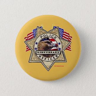 Police_Badge_Officer - lt Runder Button 5,7 Cm