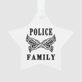 Polizei-Familie Ornament