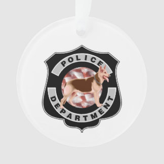 Polizei K9 Ornament