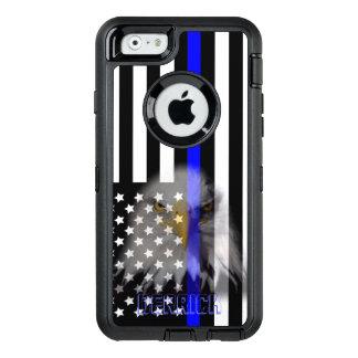Polizei kennzeichnet | verblaßtes Eagle OtterBox iPhone 6/6s Hülle