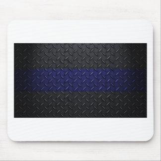 Polizei verdünnt Blue Line-Diamant-Platte Mousepad