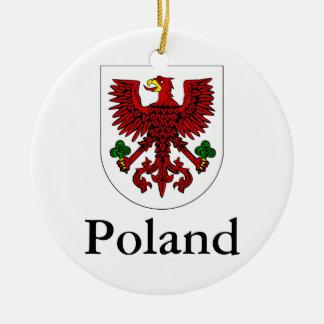 Polnisches Wappen Polens | Keramik Ornament