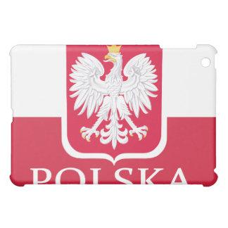 Polska Flaggen-Weiß Eagle iPad Mini Hüllen