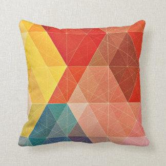 Polygon abstrakt zierkissen