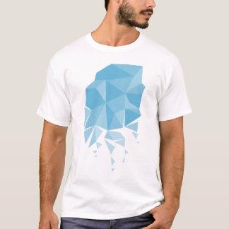 Polygon-Blau T-Shirt