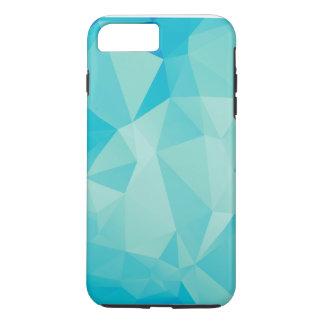 Polygon blaue iPhone 6 Plusfall iPhone 7 Plus Hülle