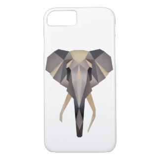 Polygon elephant iPhone 7 hülle