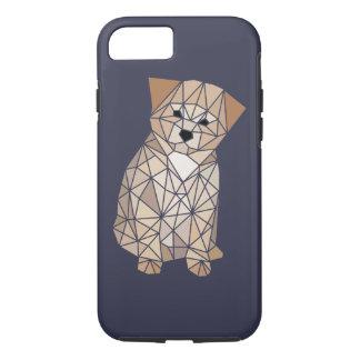 Polygon-Welpe iPhone 7 Hülle
