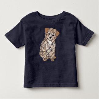 Polygon-Welpe Kleinkinder T-shirt