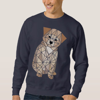 Polygon-Welpe Sweatshirt