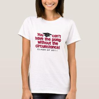 Pomp-und Umstands-Abschluss-Shirts T-Shirt