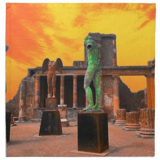 Pompeji Italien Stoffserviette