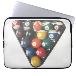 Pool-Ball-Laptop-Kasten Computer Sleeve Schutzhülle
