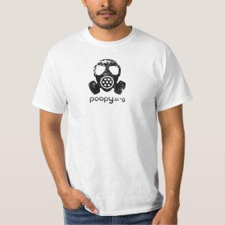 poopy Gasmaske-T - Shirt