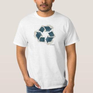 poopy recyceln Sie Wellen-T - Shirt