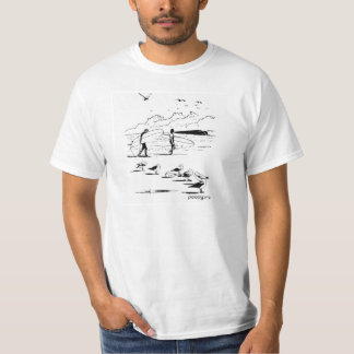 poopy Surfers-T - Shirt