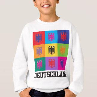 Pop-Kunst Deutschland Sweatshirt