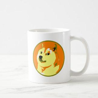 Pop-Kunst dogecoin Entwurf Tasse