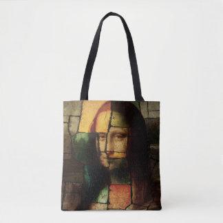 Pop-Kunst-Mona Lisa Taschen-Tasche