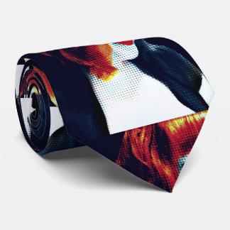 Pop-Kunst-Selbstporträt Bedruckte Krawatten