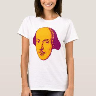 Pop-Kunst-T - Shirt William Shakespeare Retro