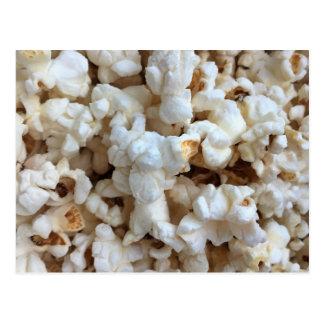 Popcorn-Foto Postkarte