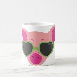 Popkunst Piggy Tasse