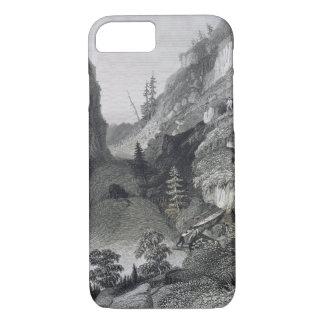 Portage im Hoarfrost-Fluss am 19. August 1833 für iPhone 8/7 Hülle