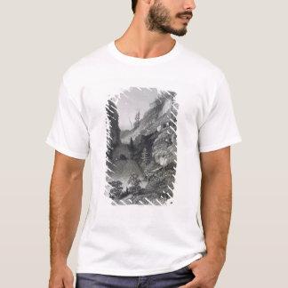 Portage im Hoarfrost-Fluss am 19. August 1833 für T-Shirt