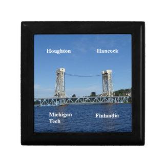 Portage See-Aufzug-Brücke Erinnerungskiste