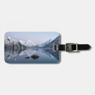 Portage See-Dämmerung Gepäckanhänger
