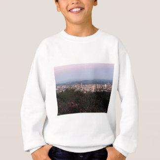 Portland-Skyline an der Dämmerung Sweatshirt