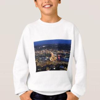 Portland-Verkehr an der Dämmerung Sweatshirt