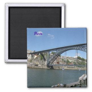 Porto Quadratischer Magnet