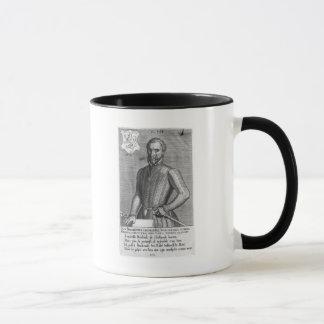 Porträt der Zählung Henry von Brederode 1566 Tasse