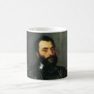 Porträt des Herzogs von Urbino durch Titian Kaffeetasse