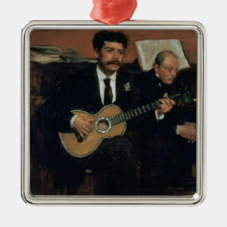 Porträt Edgar Degass | von Lorenzo-Heiden Silbernes Ornament