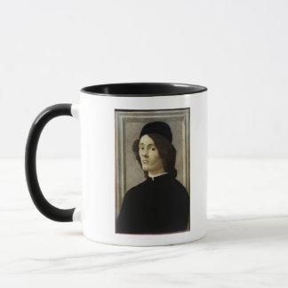 Porträt eines Mannes Tasse
