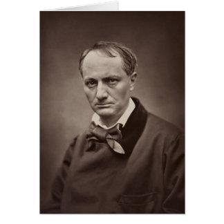 Porträt Étienne Carjat Charless Pierre Baudelaire Karte