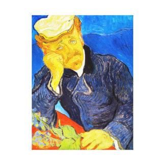 Porträt Van Gogh | von Dr. Gachet Gespannter Galerie Druck