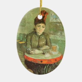 Porträt von Agostina Segatori durch Vincent van Keramik Ornament