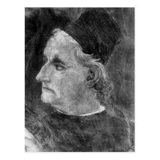 Porträt von Antonio Pollaiuolo Postkarte