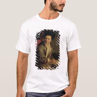 Porträt von Bernard le Bovier de Fontenelle T-Shirt