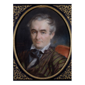 Porträt von erweitern sich Merimee 1853 Postkarte