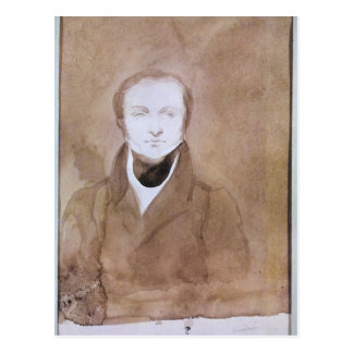 Porträt von erweitern sich Merimee Postkarte
