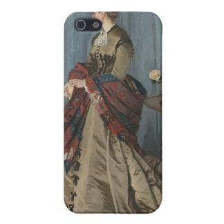 Porträt von Frau Gaudibert (1868) iPhone 5 Schutzhülle